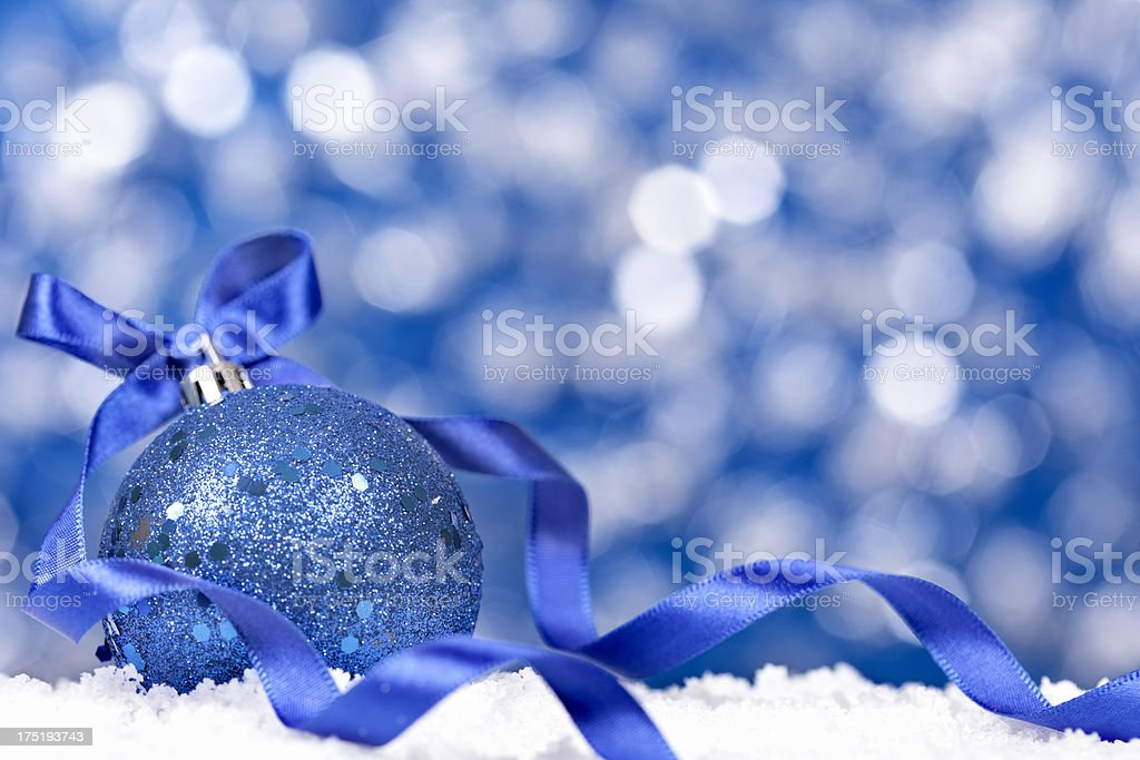 Christmas background with copy space royalty-free stock photo