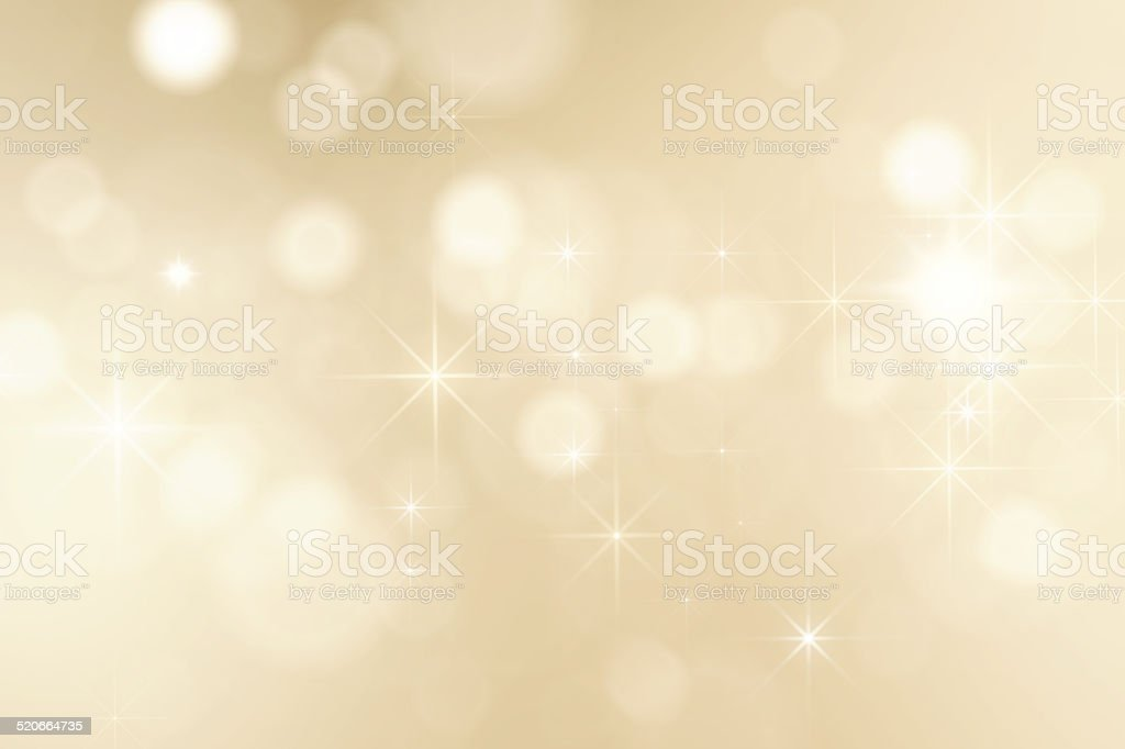 Christmas background with shining sparkles stock photo