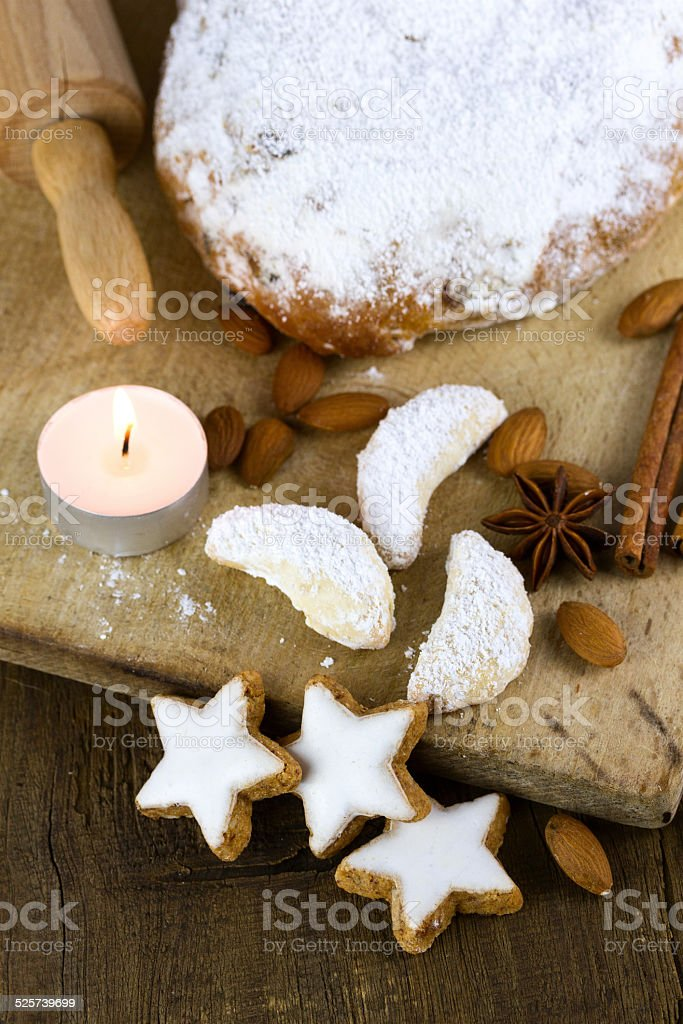 Weihnachtsb?ckerei stock photo