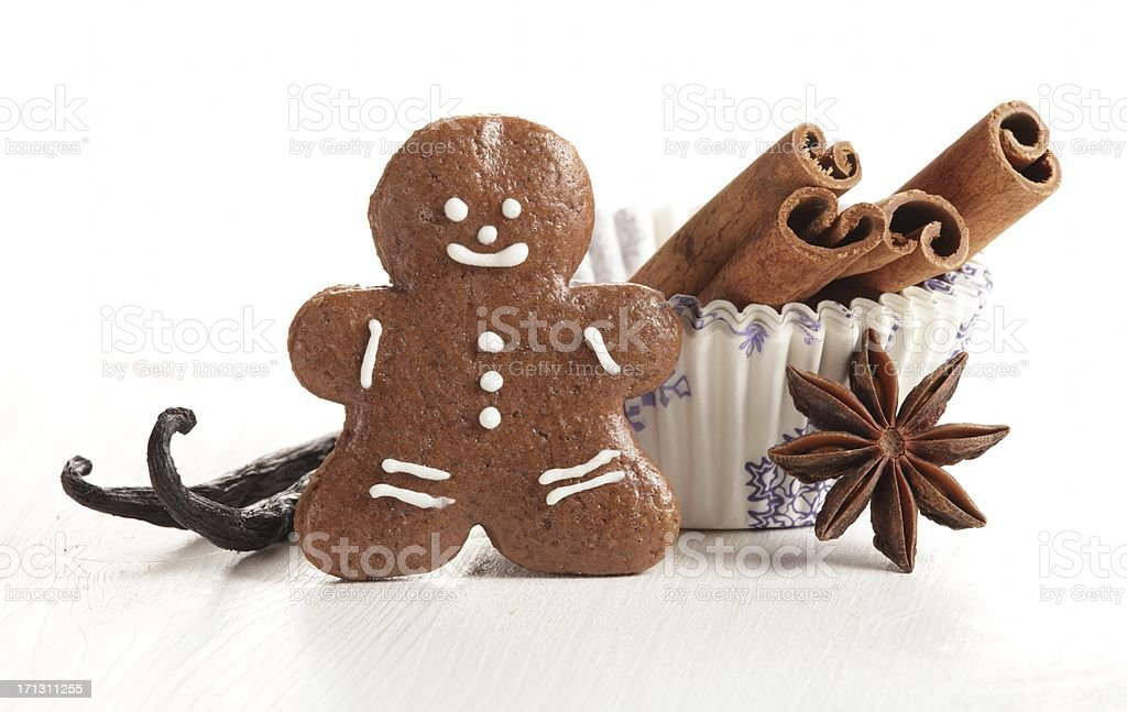 Christmas baking flavours royalty-free stock photo