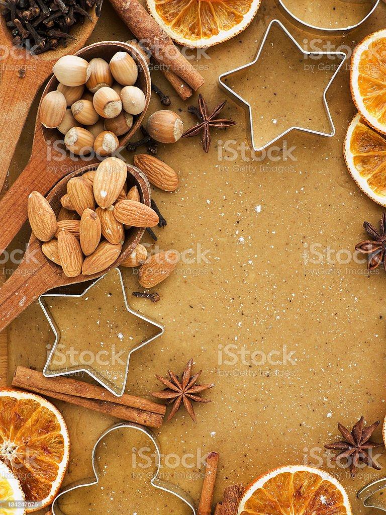 Christmas baking royalty-free stock photo