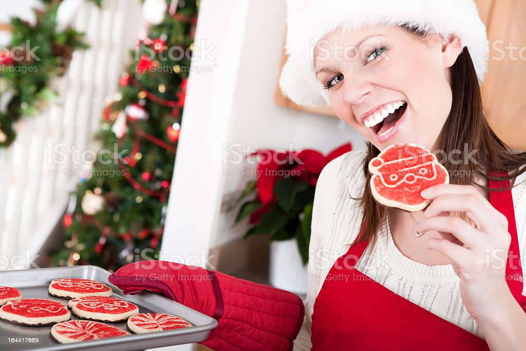 Christmas Baking royalty-free stock photo