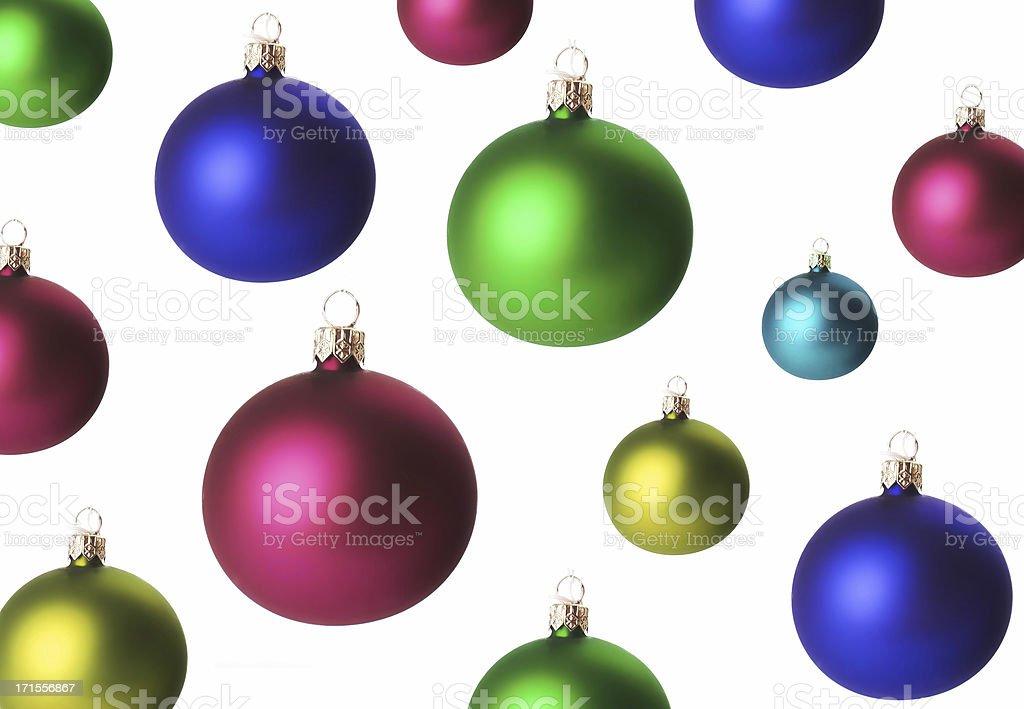 christmas ball background royalty-free stock photo