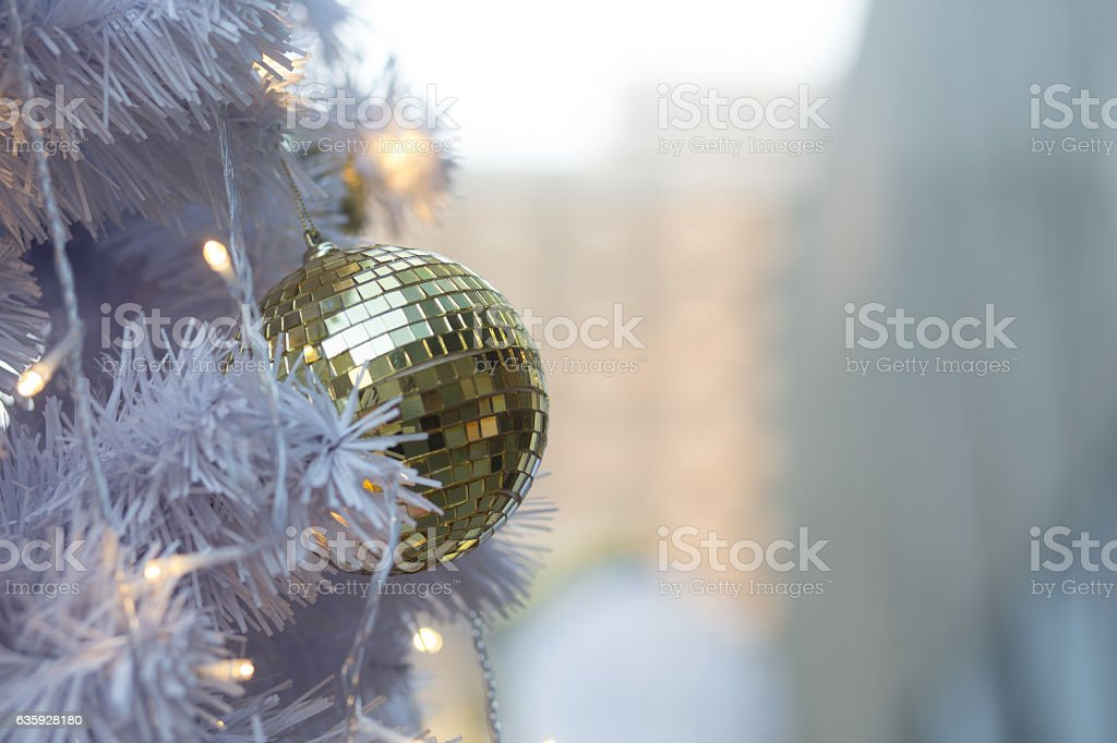 Christmas ball  background stock photo