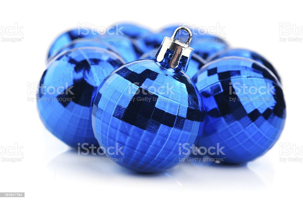 Christmas ball isolated royalty-free stock photo