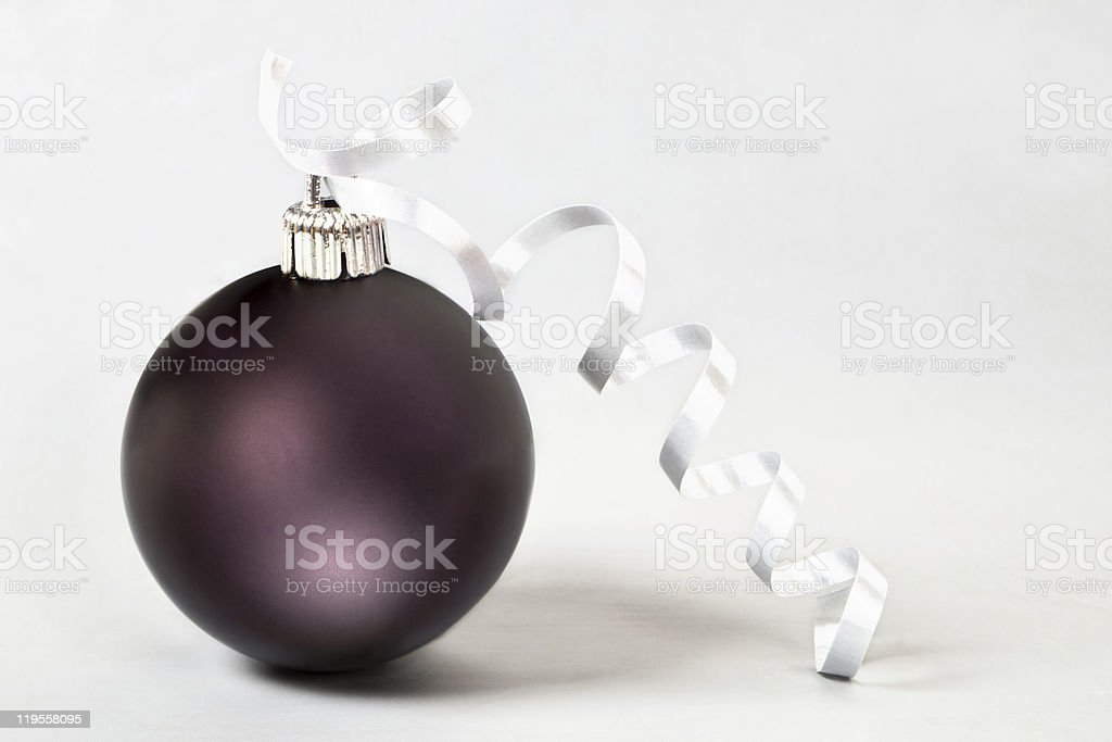 Christmas ball. royalty-free stock photo