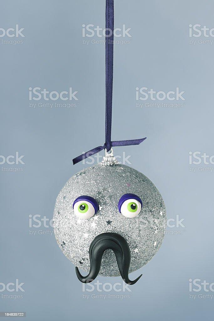Christmas ball portrait royalty-free stock photo