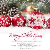 Christmas Ball Row