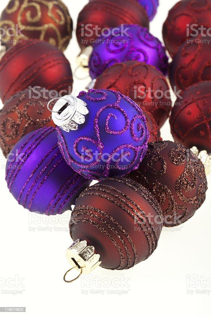 Bolas de Natal foto de stock royalty-free