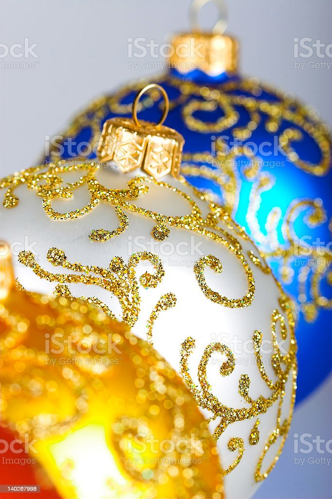 Christmas balls. royalty-free stock photo