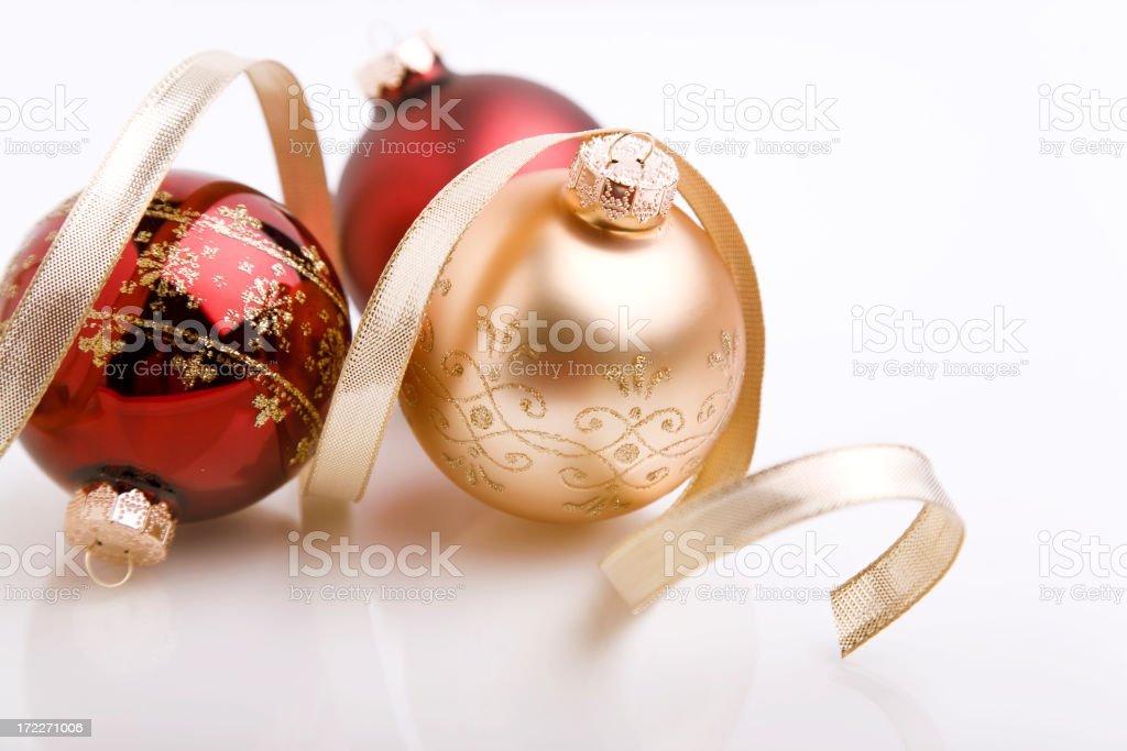 Christmas Balls (XL) royalty-free stock photo