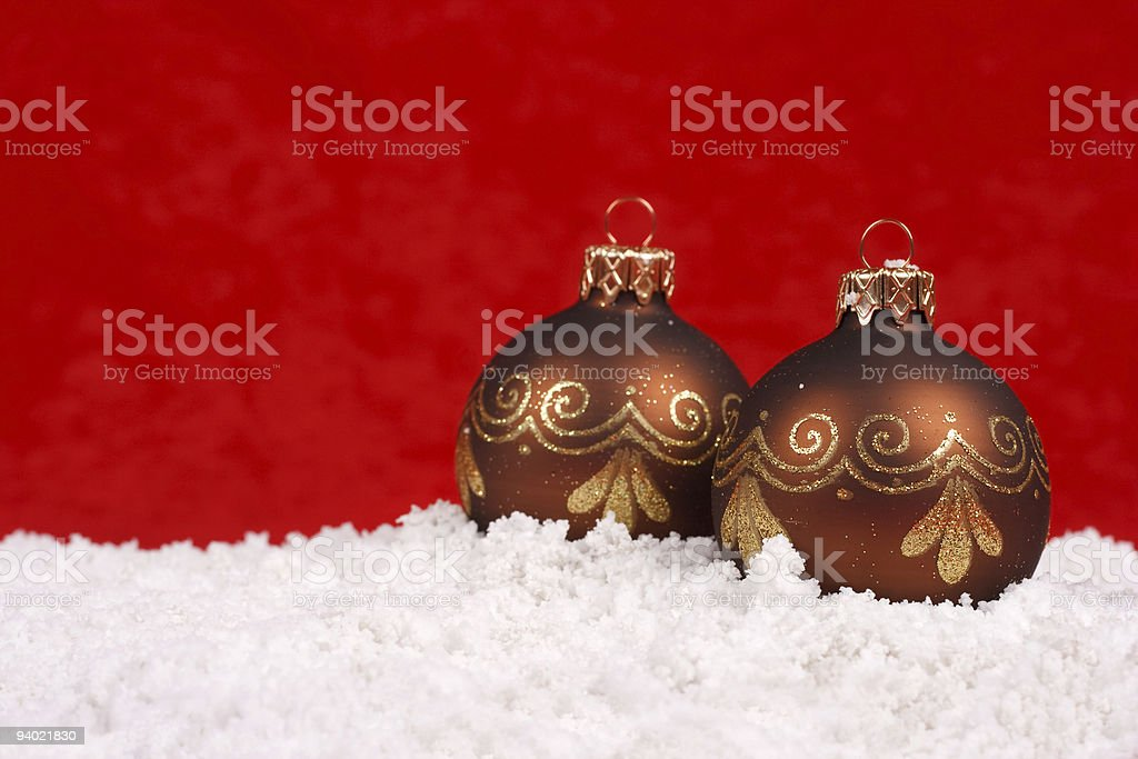 Christmas balls royalty-free stock photo