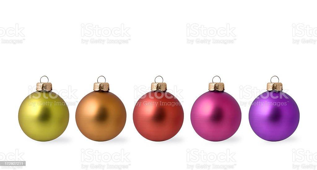 Christmas Balls Series - 1 royalty-free stock photo
