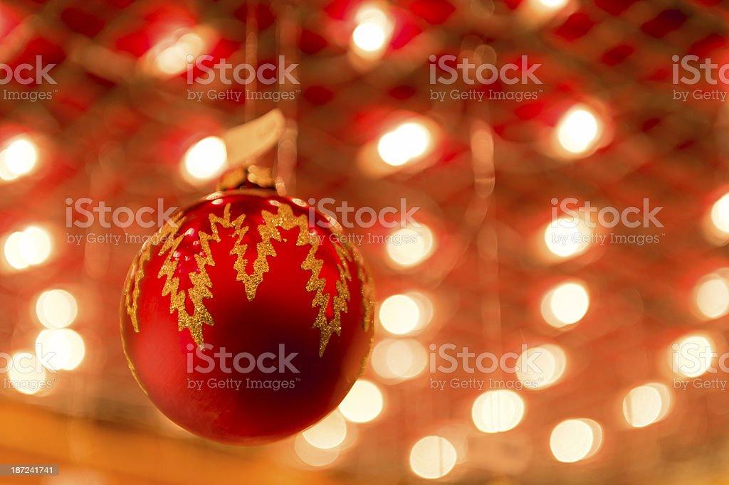 Christmas balls the wizardry stock photo