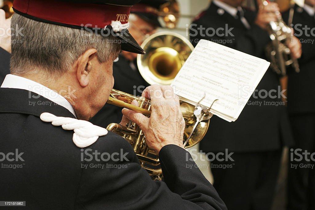 Christmas Band royalty-free stock photo