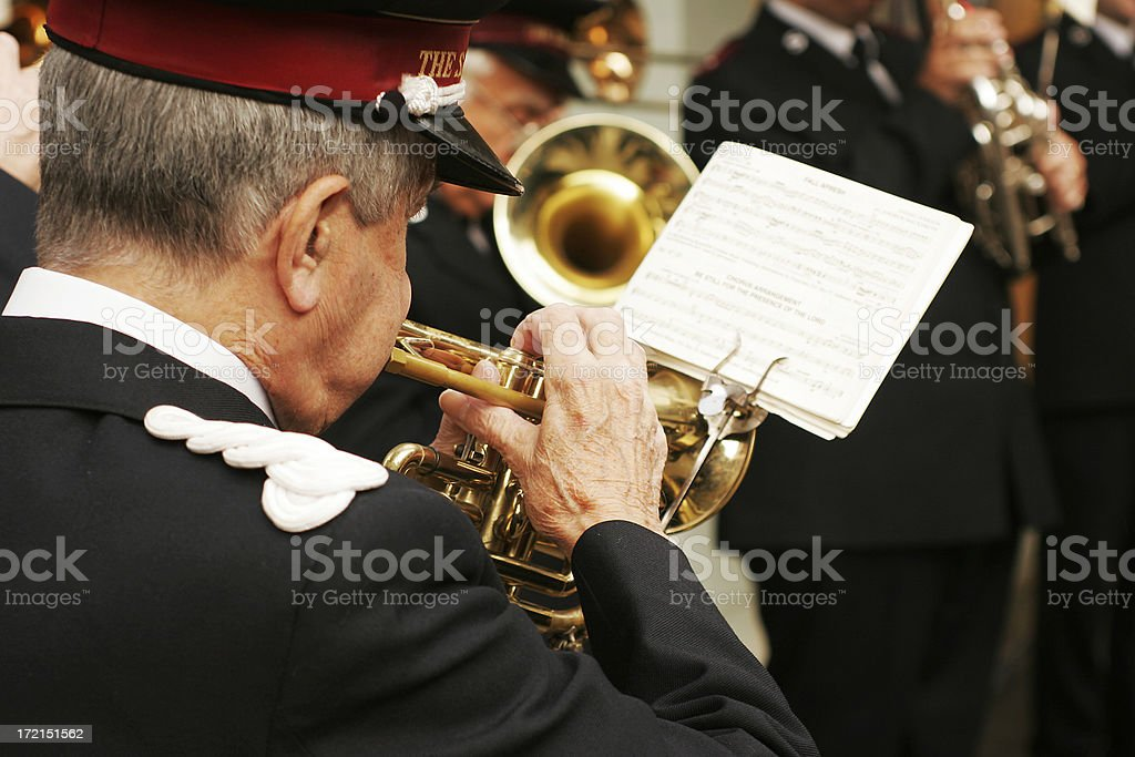Christmas Band stock photo