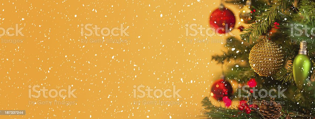 Christmas Banner royalty-free stock photo