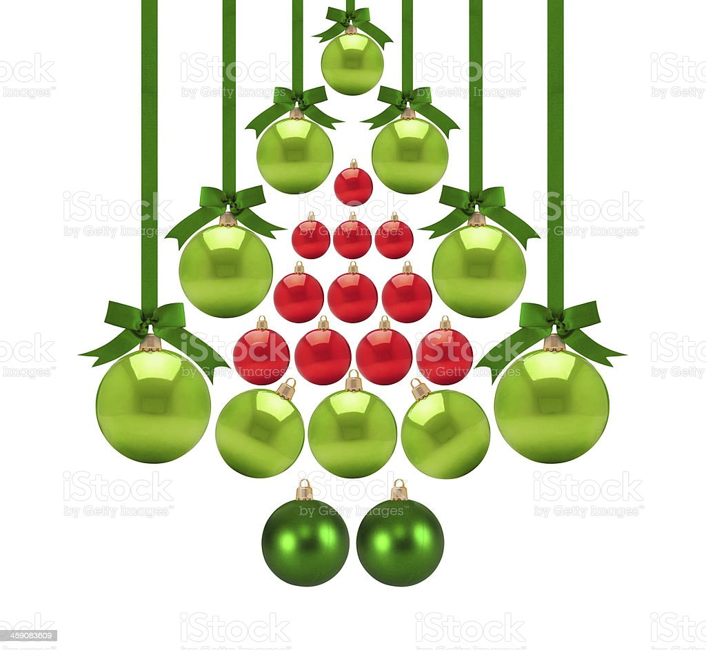 Christmas baubles. Series see more.... stock photo