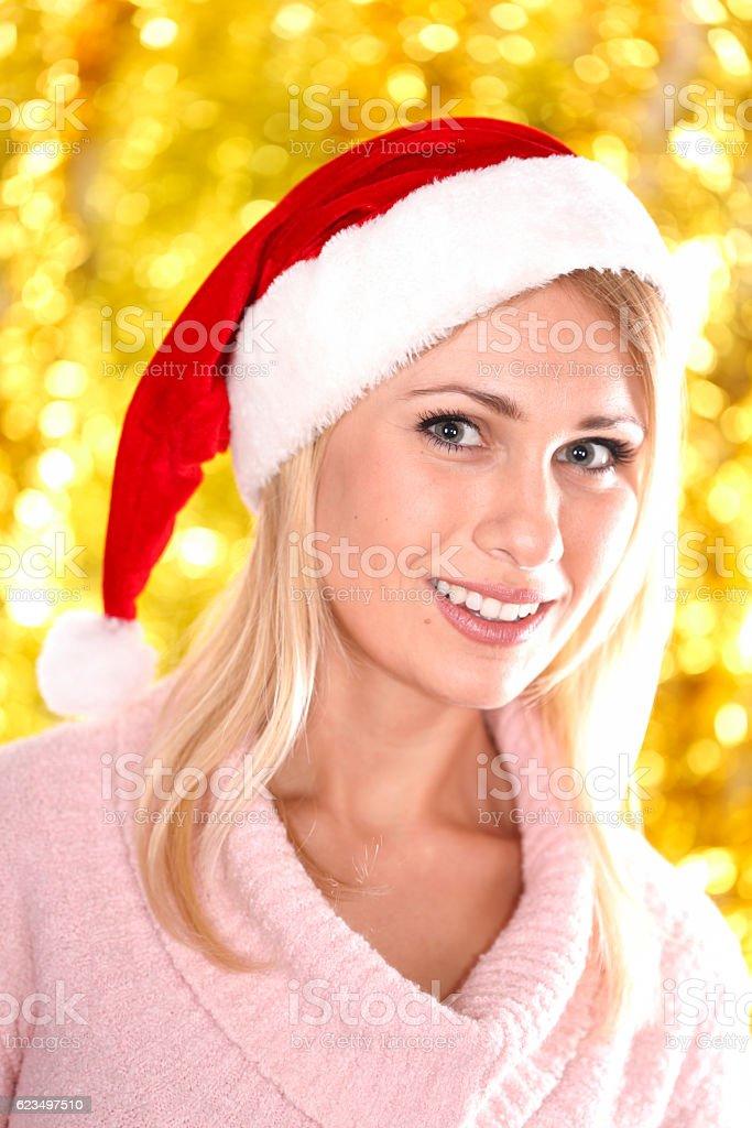 Christmas beauty stock photo