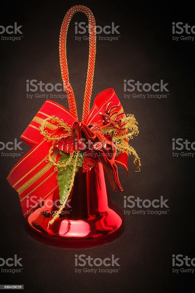 De Navidad bell foto de stock libre de derechos