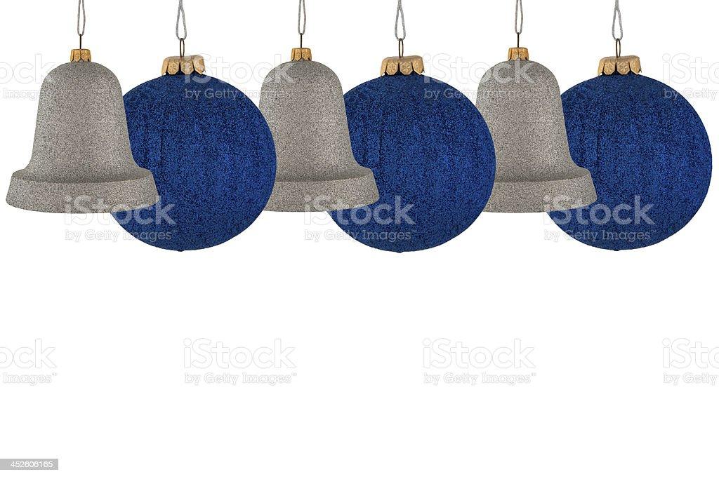 Christmas bells and balls royalty-free stock photo