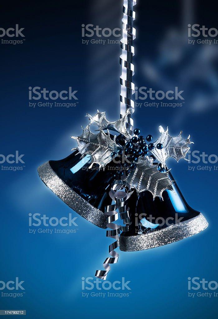Christmas bells royalty-free stock photo
