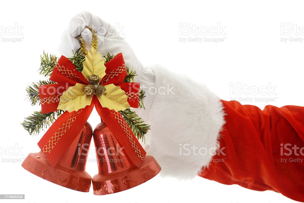 Christmas bells royalty-free stock photo