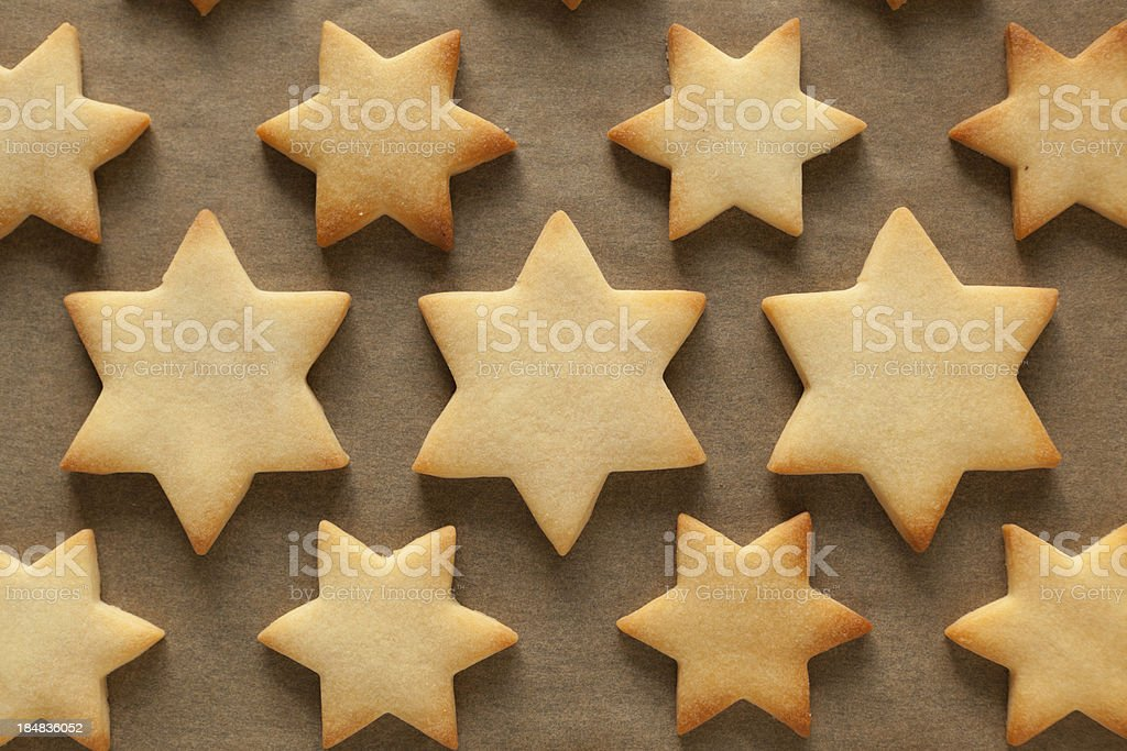 christmas biscuits stock photo