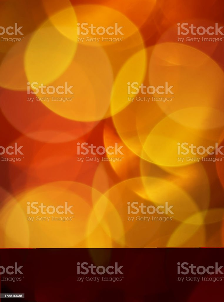 christmas blured lights royalty-free stock photo
