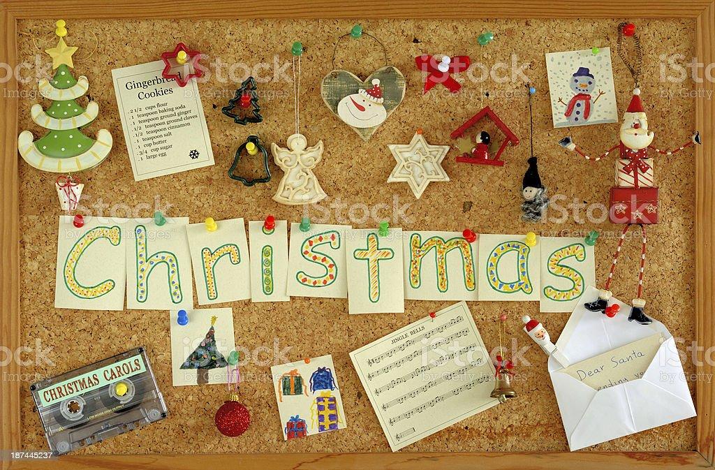 Christmas Board royalty-free stock photo