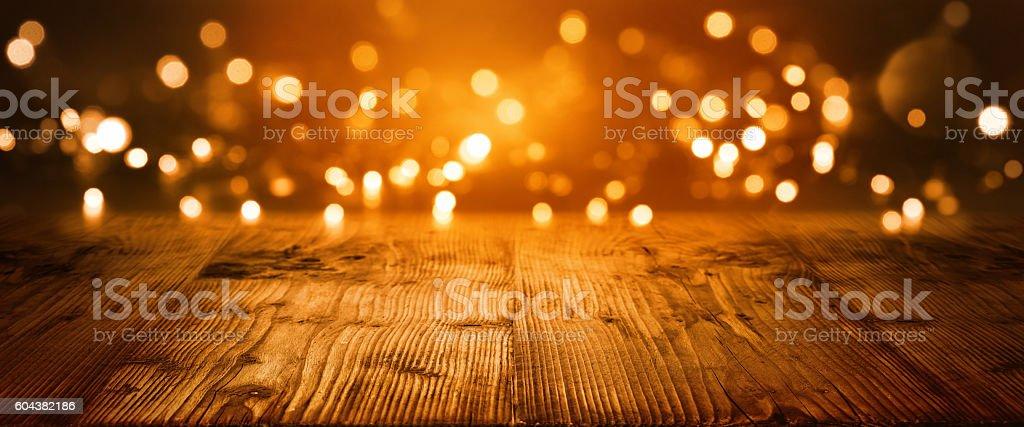Christmas Bokeh background stock photo