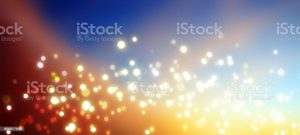 Christmas Bokeh background. stock photo