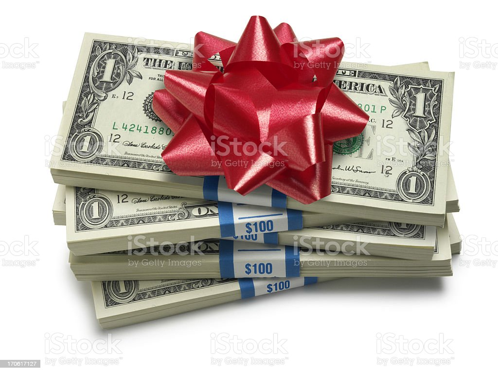 Christmas Bonus royalty-free stock photo