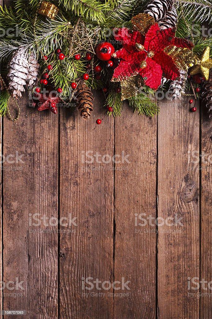 Christmas border design royalty-free stock photo