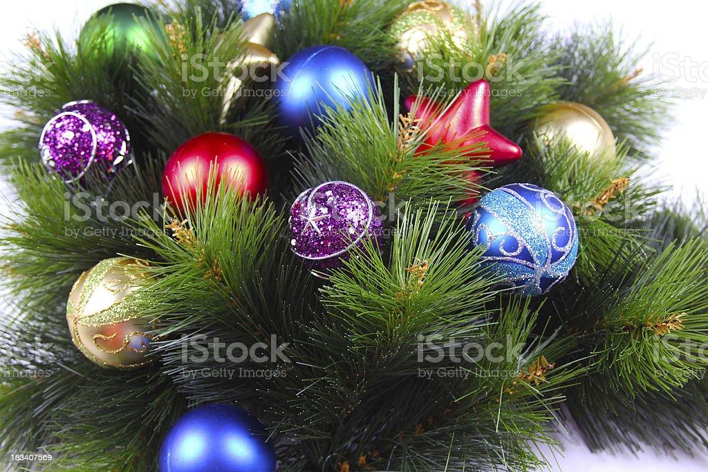 Christmas border royalty-free stock photo