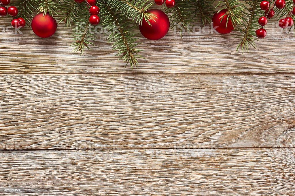 Christmas border stock photo