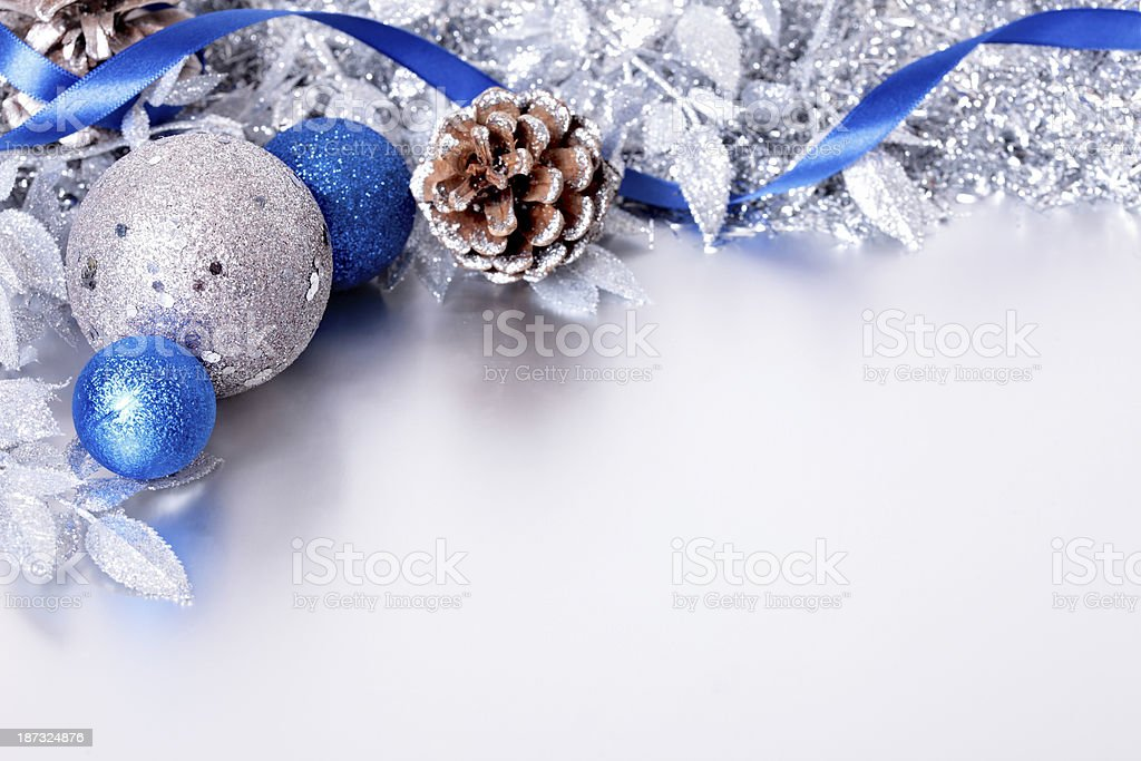 Christmas border with copyspace royalty-free stock photo