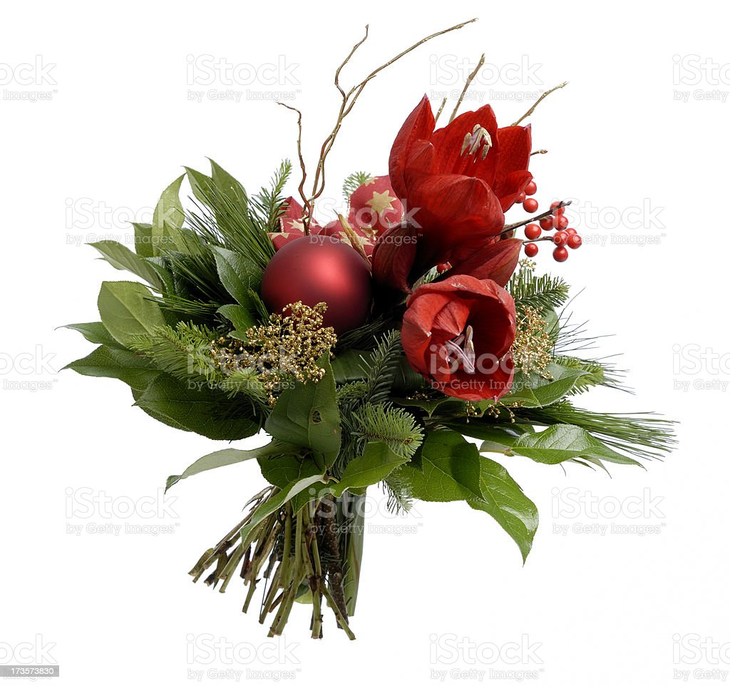 Christmas bouquet royalty-free stock photo