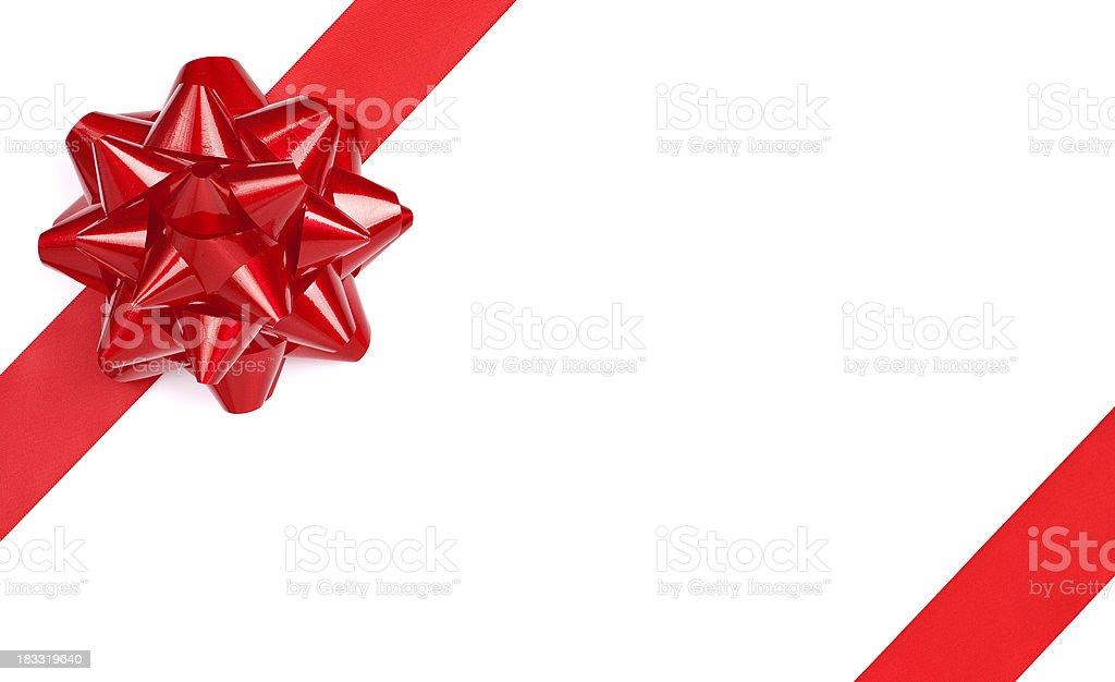 Christmas Bow royalty-free stock photo