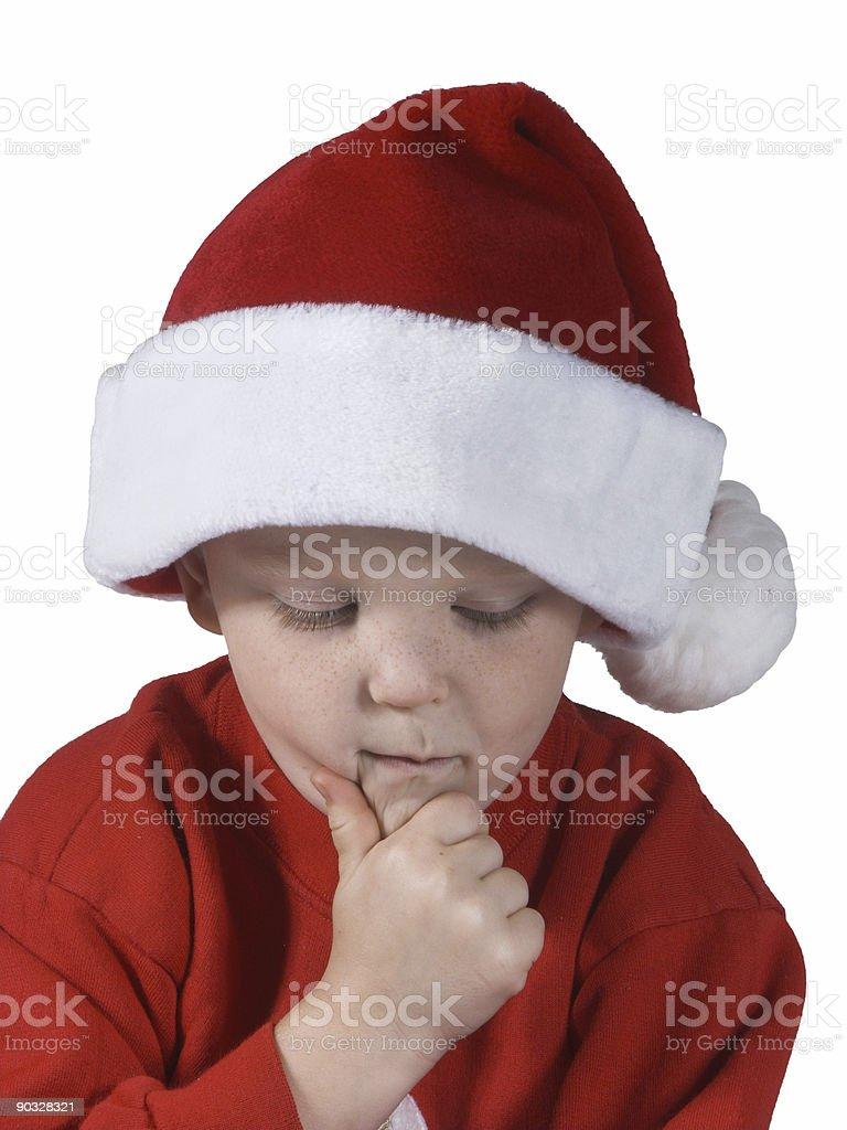 christmas boy#3 royalty-free stock photo