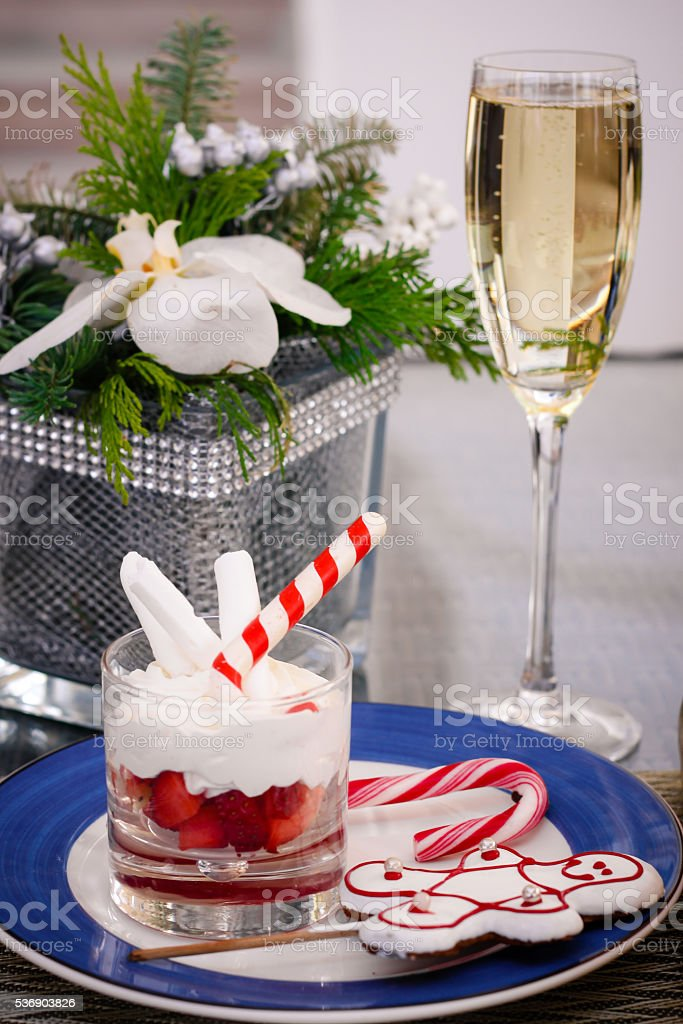 Christmas Brunch stock photo