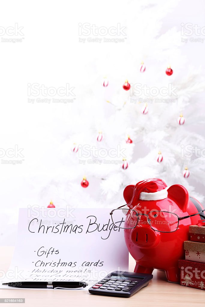 christmas budget plan stock photo 521654163 istock
