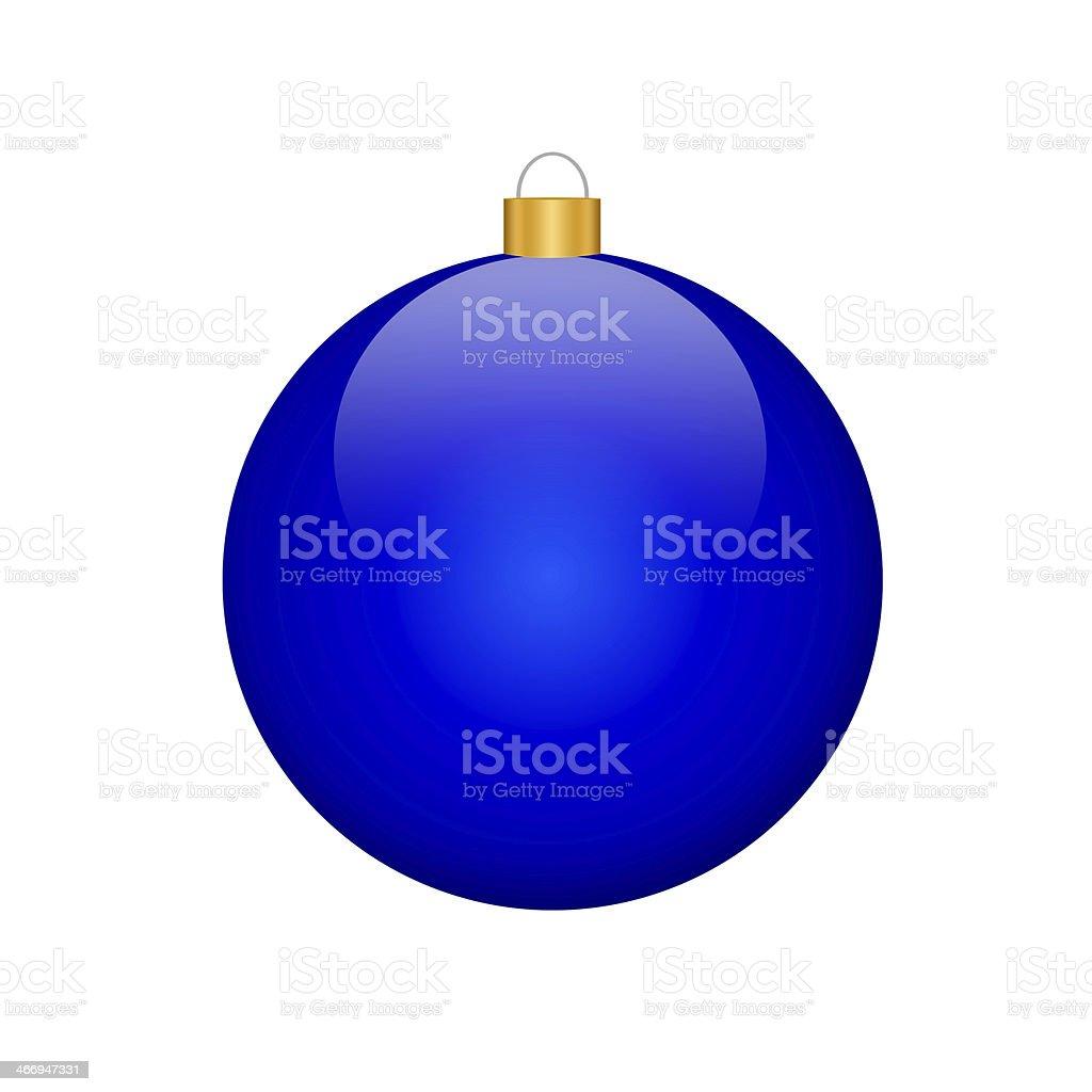 christmas bulb (isolated) royalty-free stock photo