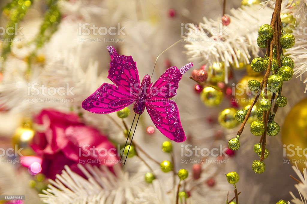 Christmas Butterfly royalty-free stock photo
