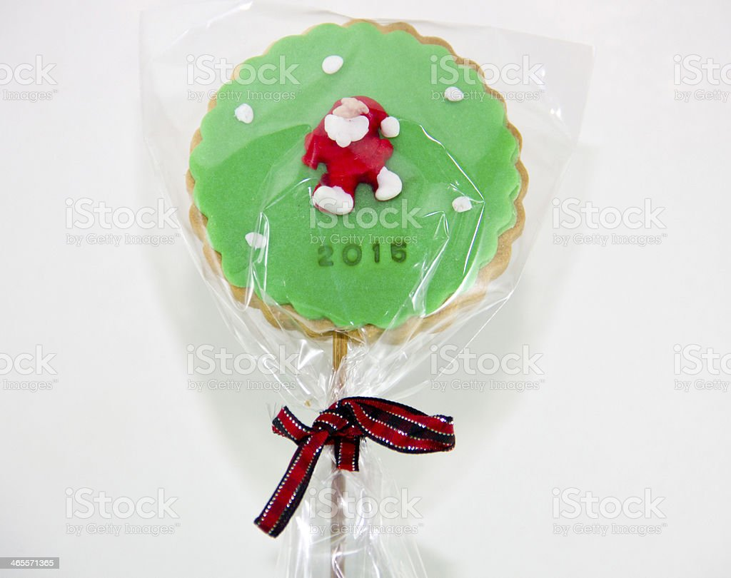 Christmas cake pops stock photo