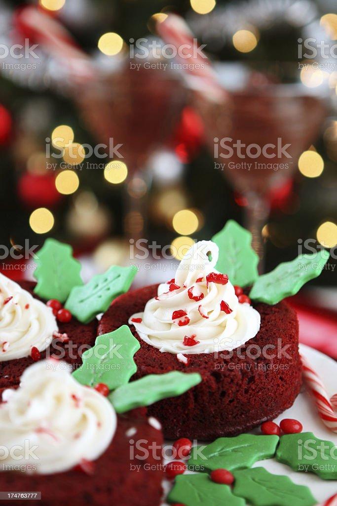 christmas cakes royalty-free stock photo