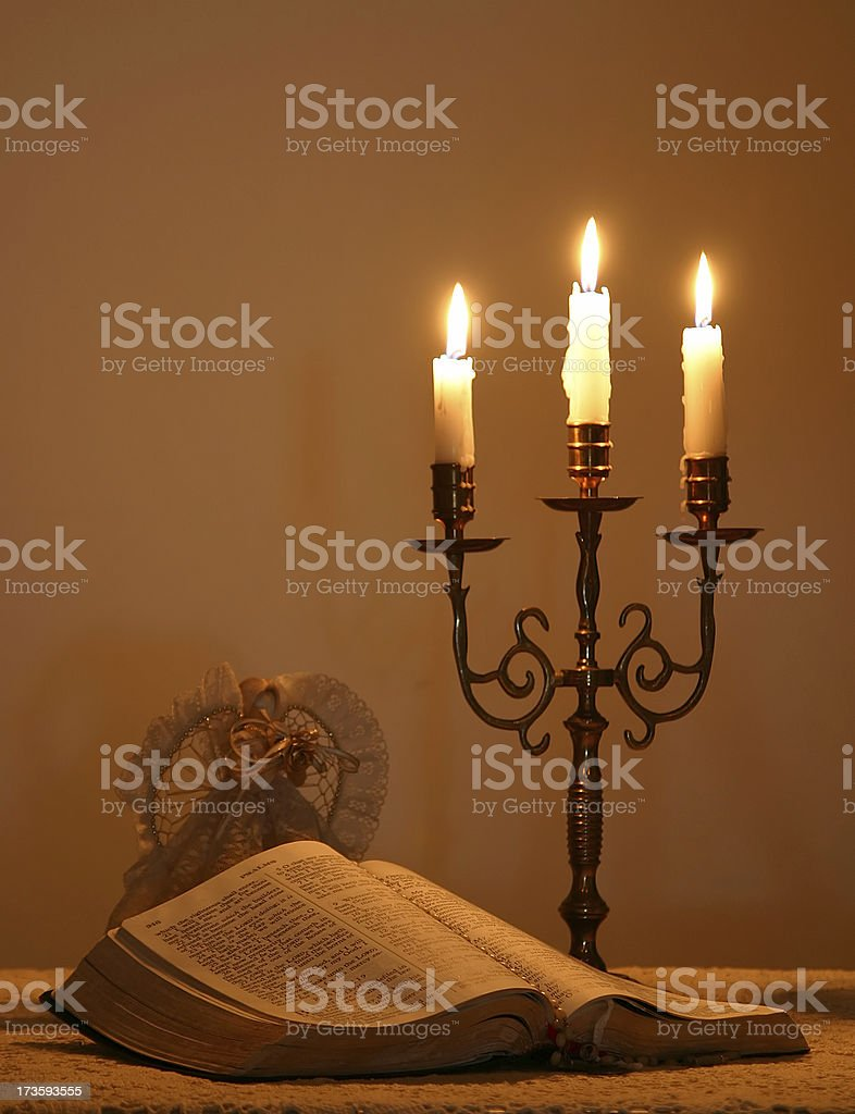 Christmas Candlelight royalty-free stock photo
