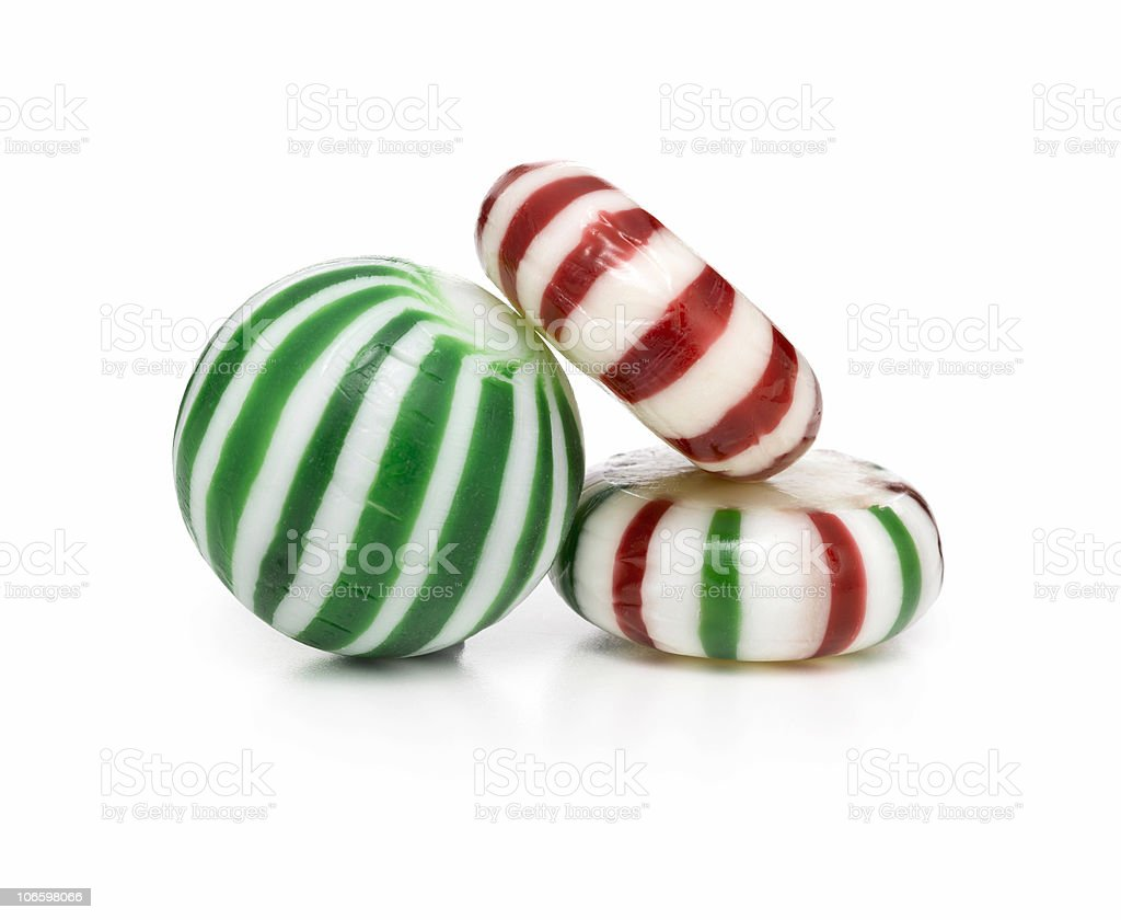 Christmas Candy Pile royalty-free stock photo