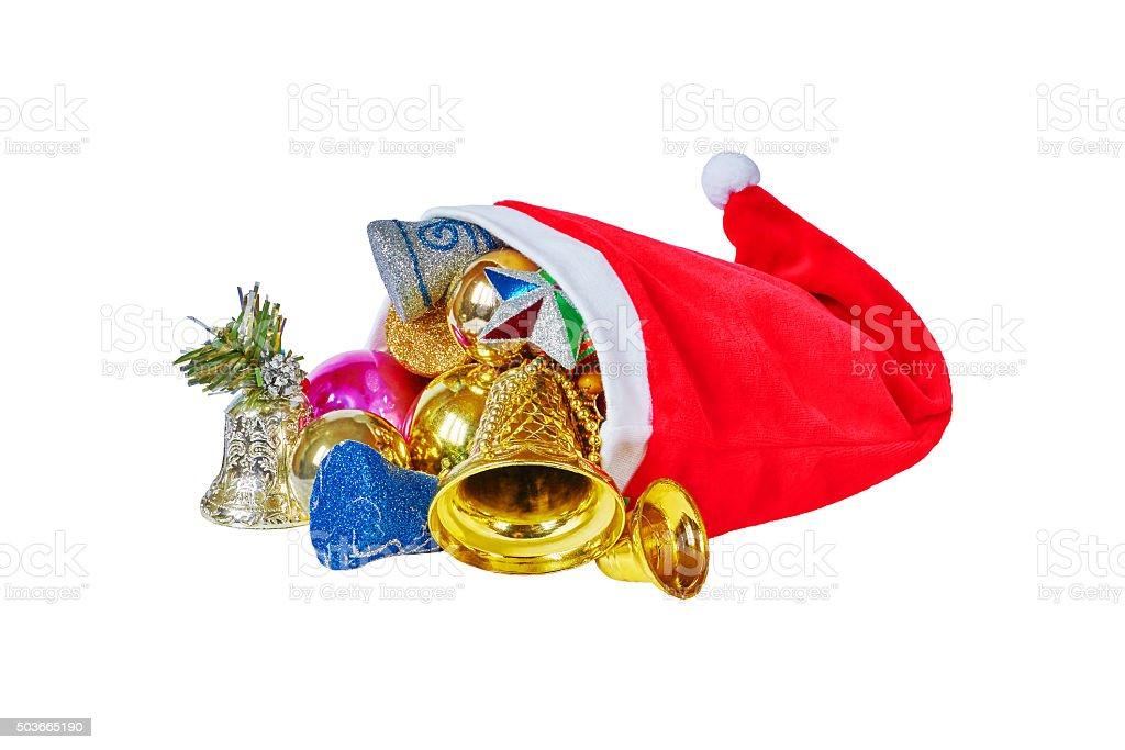 Christmas cap royalty-free stock photo