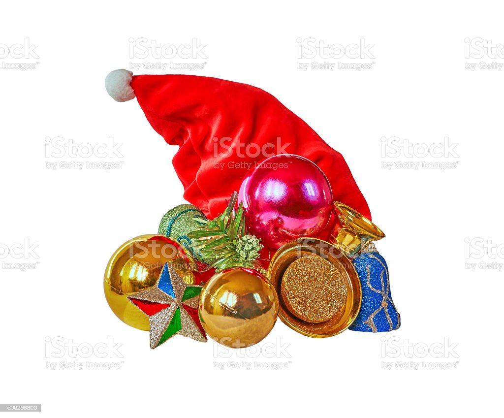 Christmas cap royalty-free stock photo